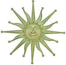 Wanddekoration Sonne 60cm Eisen Garten Terrasse