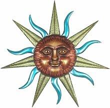 Wanddekoration Sonne