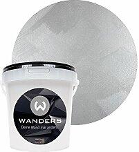 Wanders24 Edel-Metallic (1 Liter, kostbares Grau)