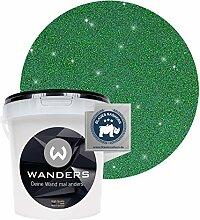 Wanders24® Glimmer-Optik (1 Liter, Gold-Grün)