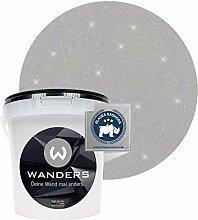 Wanders24® Glimmer-Optik (1 Liter, Silber-Grau)