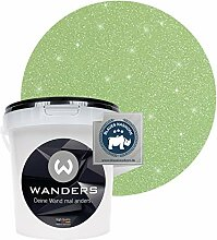 Wanders24® Glimmer-Optik (1 Liter, Silber-Jade)