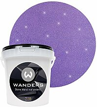 Wanders24 Glimmer-Optik (1 Liter, Silber-Lila)