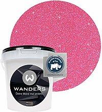 Wanders24® Glimmer-Optik (1 Liter, Silber-Pink)