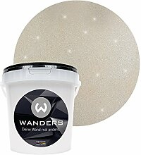 Wanders24 Glimmer-Optik (1 Liter, Silber-Sand)