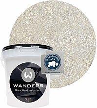 Wanders24® Glimmer-Optik (1 Liter, Silber-Sand)