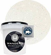 Wanders24® Glimmer-Optik (1 Liter, Silber-Weiß)