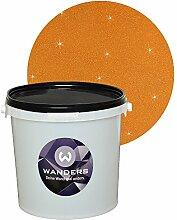 Wanders24 Glimmer-Optik (3 Liter, Gold-Braun) Glitzerfarbe, Glitzer Wandfarbe, Glitzereffekt, Wand-Farbe, Effektfarbe, Strukturfarbe, Glimmer, Glitter, glitter pain