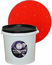 Wanders24 Glimmer-Optik (3 Liter, Gold-Rot) Wand-Farbe Glitzer-Effekt Wandfarbe-Glitter