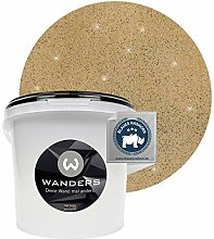 Wanders24® Glimmer-Optik (3 Liter, Gold-Sand)