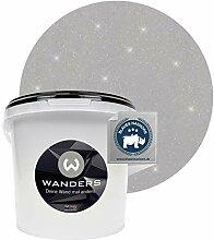 Wanders24® Glimmer-Optik (3 Liter, Silber-Grau)