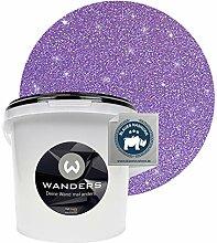 Wanders24® Glimmer-Optik (3 Liter, Silber-Lila)
