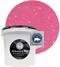 Wanders24® Glimmer-Optik (3 Liter, Silber-Pink)