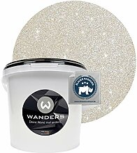 Wanders24® Glimmer-Optik (3 Liter, Silber-Sand)