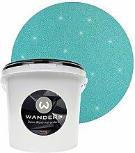 Wanders24 Glimmer-Optik (3 Liter, Silber-Türkis)