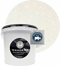 Wanders24® Glimmer-Optik (3 Liter, Silber-Weiß)