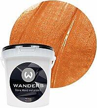 Wanders24 Metall-Optik (1 Liter, Bronze) Wandfarbe