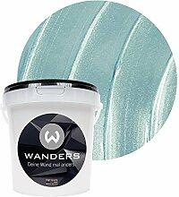 Wanders24 Metall-Optik (1 Liter, Eisblau)