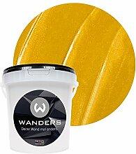 Wanders24 Metall-Optik (1 Liter, Gold) Wandfarbe
