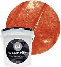 Wanders24 Metall-Optik (1 Liter, Kupfer) Wandfarbe