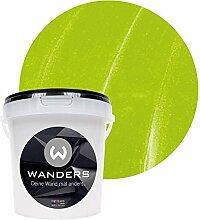 Wanders24 Metall-Optik (1 Liter, Lemon) Wandfarbe