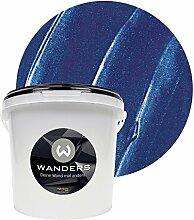 Wanders24 Metall-Optik (3 Liter, Dunkelblau)
