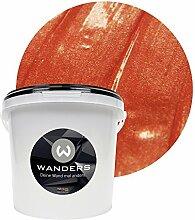 Wanders24 Metall-Optik (3 Liter, Kupfer) Wandfarbe