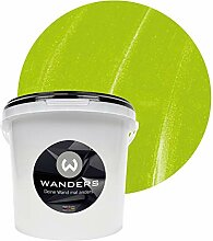 Wanders24 Metall-Optik (3 Liter, Lemon) Wandfarbe