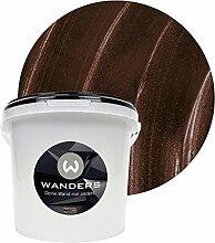 Wanders24 Metall-Optik (3 Liter, Schokobraun)