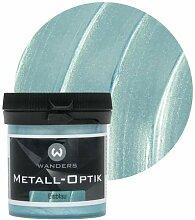 Wanders24 Metall-Optik (80 ml, Eisblau) Wandfarbe