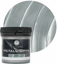 Wanders24 Metall-Optik (80 ml, Silber) Wandfarbe