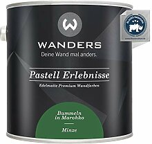 Wanders24® Pastell Erlebnisse (2,5 Liter, Minze)