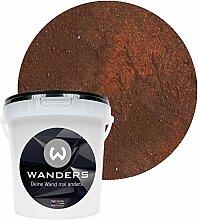 Wanders24 Rost-Optik (1 Liter, Rost) Wandfarbe