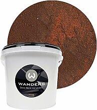 Wanders24 Rost-Optik (3 Liter, Rost) Wandfarbe