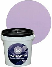 Wanders24 Shabby-Chic (1 Liter, Flieder) Kreide-Farbe Wand-Farbe Vintage Antik-Look