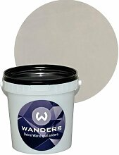 Wanders24 Shabby-Chic (1 Liter, Grau) Kreide-Farbe Wand-Farbe Vintage Antik-Look