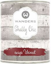 Wanders24 Shabby Chic (750 ml, ewiges Weinrot)
