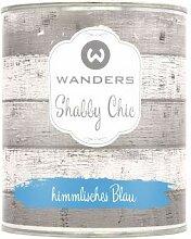 Wanders24 Shabby Chic (750 ml, himmlisches Blau)