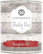 Wanders24 Shabby Chic (750 ml, königliches Rot)