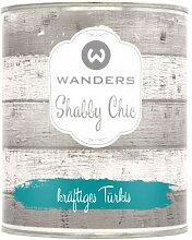 Wanders24 Shabby Chic (750 ml, kräftiges Türkis)