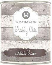Wanders24 Shabby Chic (750 ml, rustikales Braun)