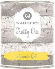 Wanders24 Shabby Chic (750 ml, schmuckes Gelb)