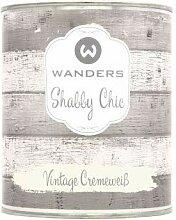 Wanders24 Shabby Chic (750 ml, Vintage Cremeweiß)