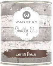 Wanders24 Shabby Chic (750 ml, warmes Braun)