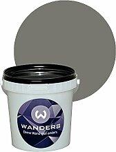 Wanders24 Tafelfarbe 1L. (Beton-Grau) matt Tafel-Farbe chalkboard Wand-Farbe, Wandfarbe Tafel-Lack, Tafellack