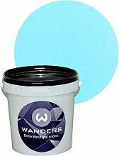 Wanders24 Tafelfarbe 1L. (Himmelblau) matt Tafel-Farbe chalkboard Wand-Farbe, Wandfarbe Tafel-Lack, Tafellack