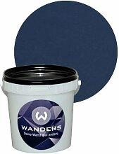 Wanders24 Tafelfarbe 1L. (Mitternachtsblau) matt Tafel-Farbe chalkboard Wand-Farbe, Wandfarbe Tafel-Lack, Tafellack