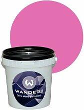 Wanders24 Tafelfarbe 1L. (Pink) matt Tafel-Farbe chalkboard Wand-Farbe, Wandfarbe Tafel-Lack, Tafellack