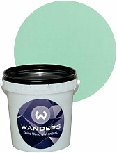 Wanders24 Tafelfarbe 1L. (Tibet Grün) matt Tafel-Farbe chalkboard Wand-Farbe, Wandfarbe Tafel-Lack, Tafellack