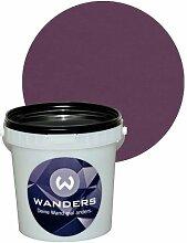 Wanders24 Tafelfarbe 1L. (Violett) matt Tafel-Farbe chalkboard Wand-Farbe, Wandfarbe Tafel-Lack, Tafellack